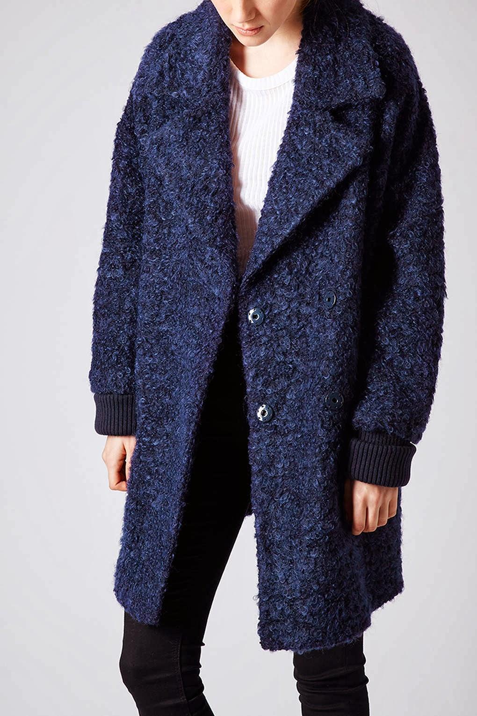 topshop furry coat