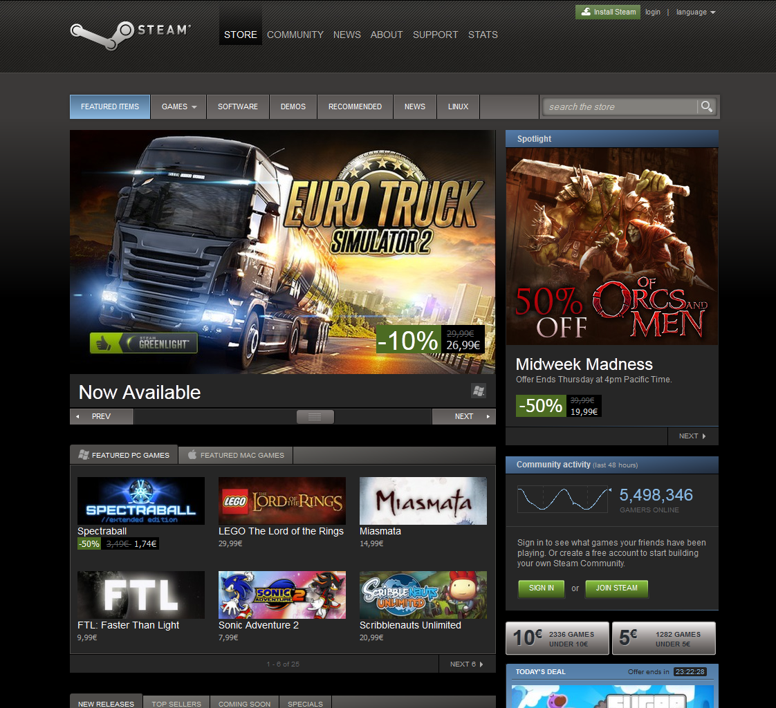 Euro Truck Simulator 2 � Steam