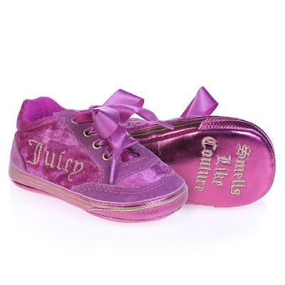 designer baby fancy schmancy couture shoes