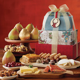 Harry and David gift basket for the holidays
