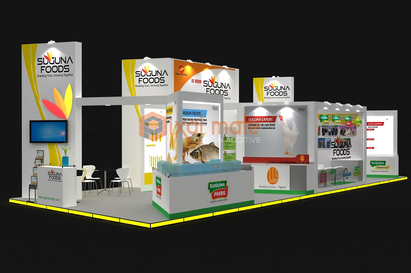 Exhibition Stall Fabricators Hyderabad : Poultry india 2012 hyderabad ~ exhibition stall designer