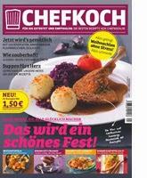 Jahresabo des Chefkoch Magazins gewinnen