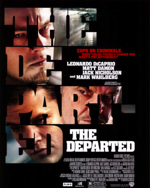 DVD Challenge #14: THE DEPARTED