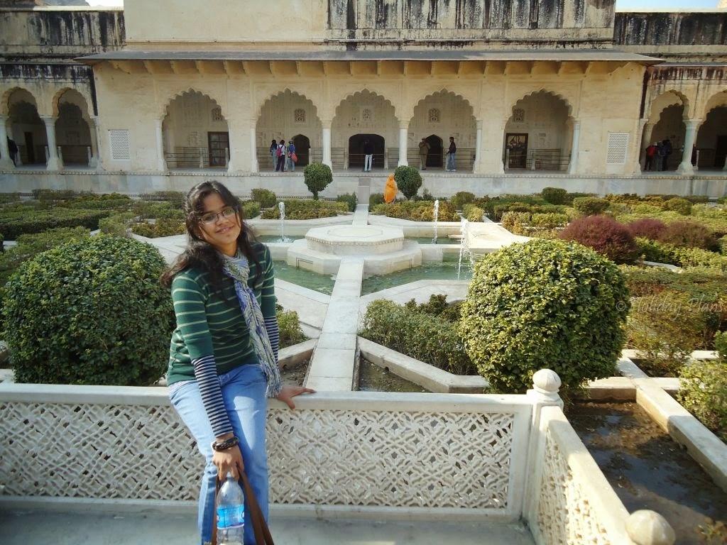 Amber Fort Gardem ,Jaipur Rajasthan
