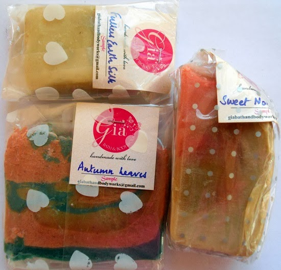 gia bath and body works+handmade soaps+body butter+body scrub+natural products+homemade products