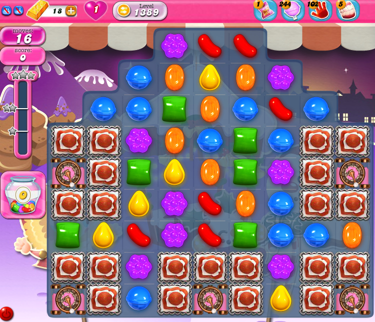 Candy Crush Saga 1389