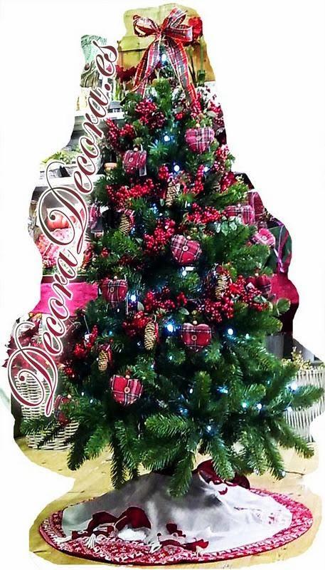 arboles bellos de navidad.