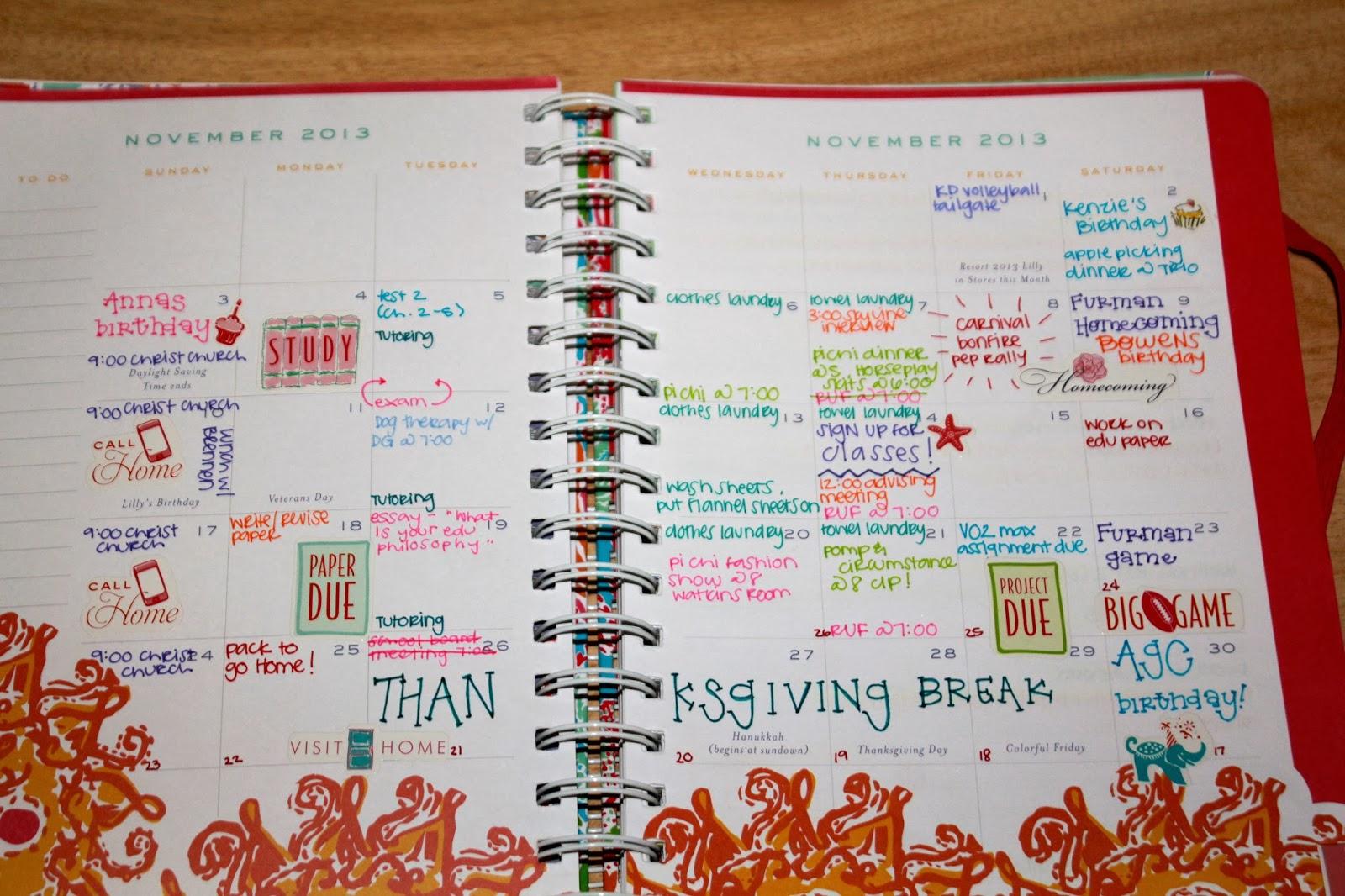 Prep In Your Step How To Agenda Organization Tips – School Agenda