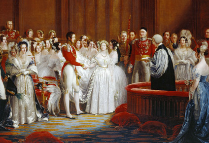 Queen Victoria Married