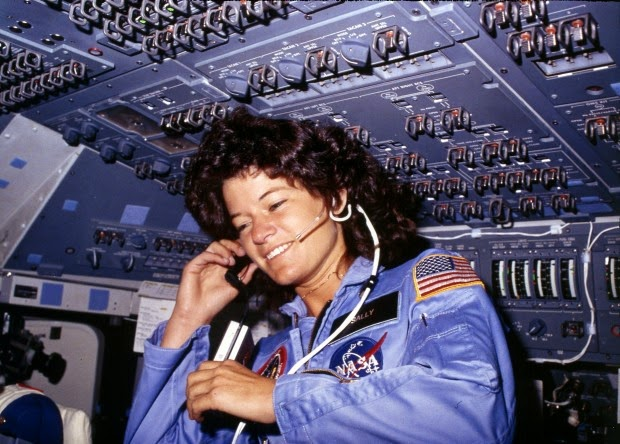http://www.nycaviation.com/2012/07/sally-ride-first-american-woman-in-space-dies-at-age-61/#.U6Hk7bEVeSp