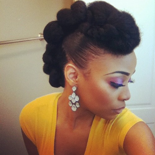 natural hairstyles with marley hair : Beautique!: How to choose a graduation or wedding Hairstyle Pt.1