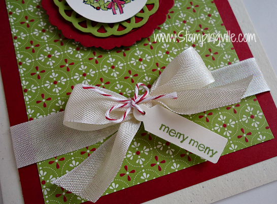 Ribbon, Baker's Twine and a tiny Jewelry Tag