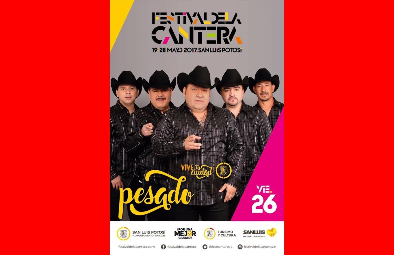 HOY 26 DE MAYO, EL GRUPO PESADO, EN EL FESTIVAL DE LA CANTERA 2017.