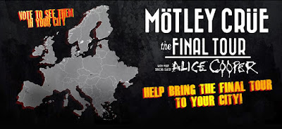 Motley Crue - Final Tour - Europe - 2015