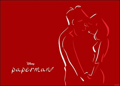 Paperman Video : Disney's Short | Candy Hearts and Paper Flowers