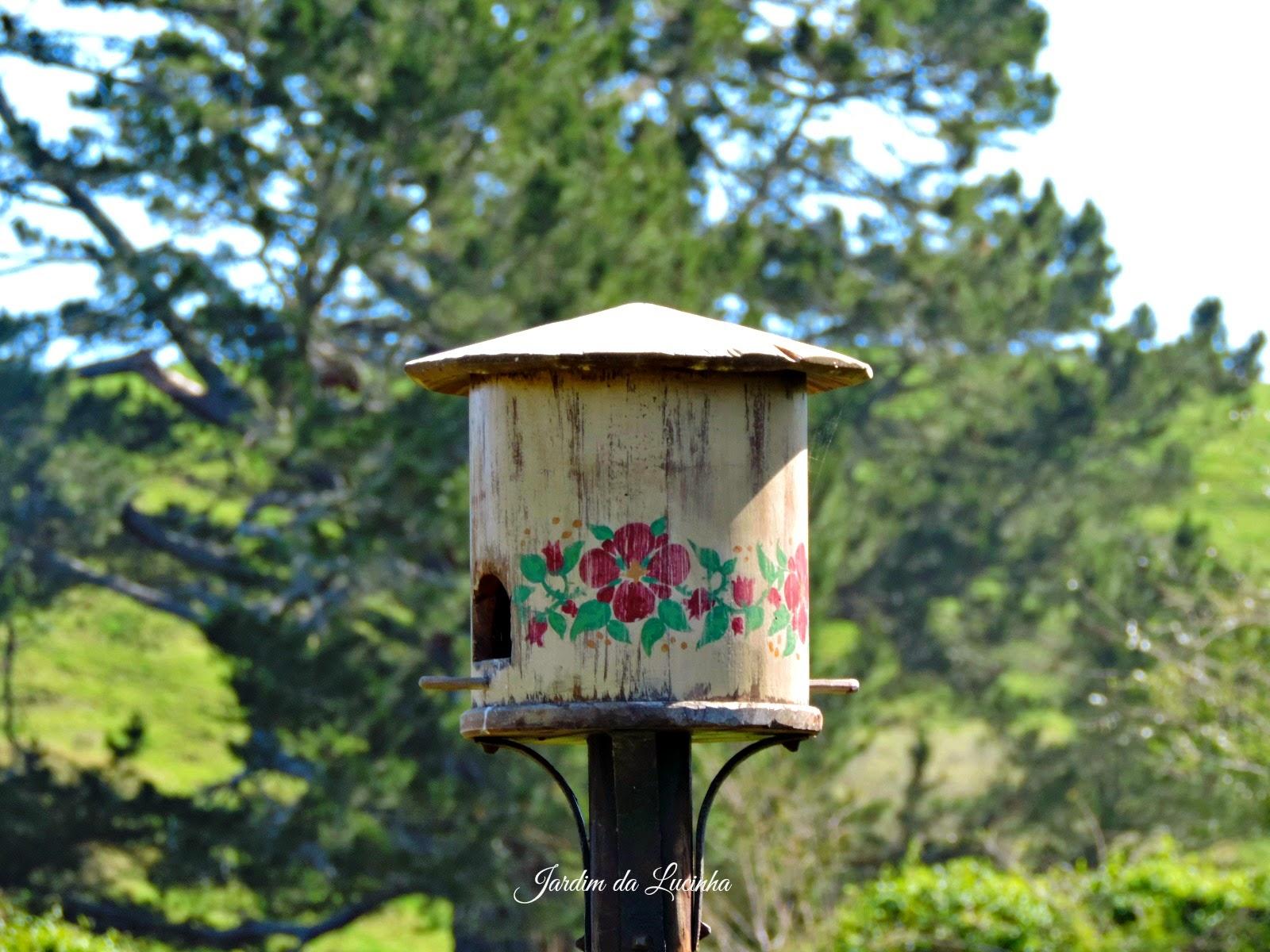 Casinhas de passarinhos  - Amiguinhos Frodo & Percy