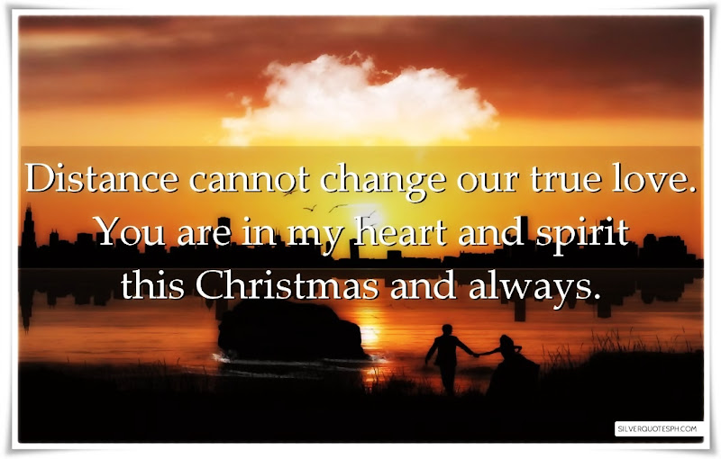 Distance Cannot Change Our True Love