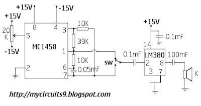 dual tone alarm circuit