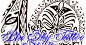 Blu sky tattoo studio maori significato 326 for Cavalluccio marino maori