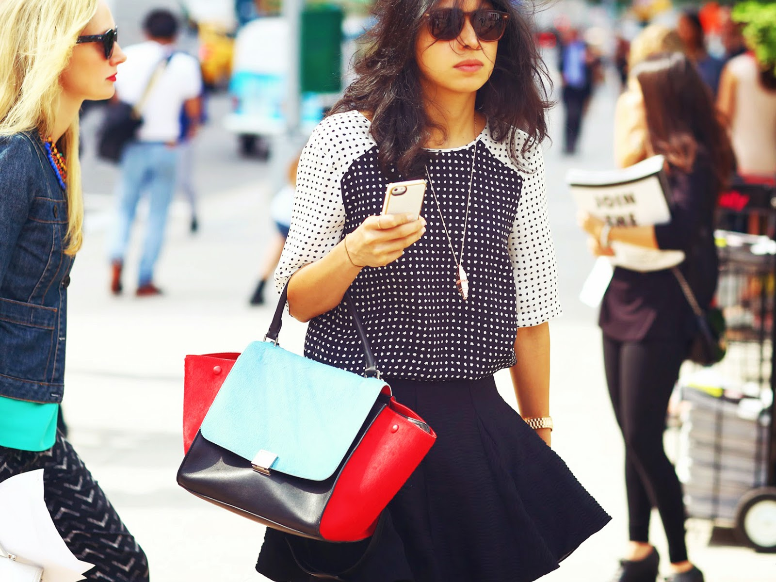 Types of bags: Trapece - Tipos de carteras: Trapecio