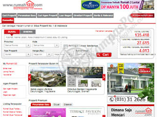 Screenshot Rumah123