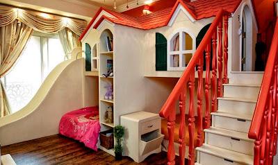 rekaan katil dan bilik untuk anak