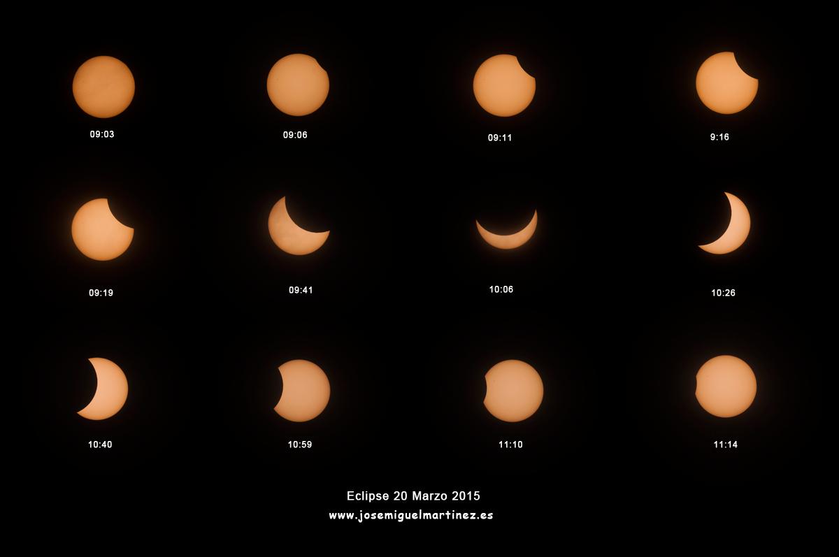 Eclipse de Sol 20 de Marzo de 2015