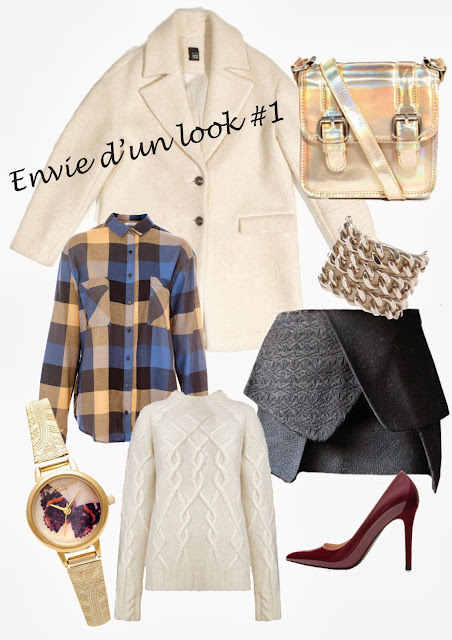 Blog Mode Fashion Fashionblog Blogmode Manteau Pimkie x Camille Over the Rainbow Pull Whistles Chemise Pull & Bear Jupe Choies Sac Asos Escarpins Zara Montre Olivia Burton Bague Mademoiselle Pierre