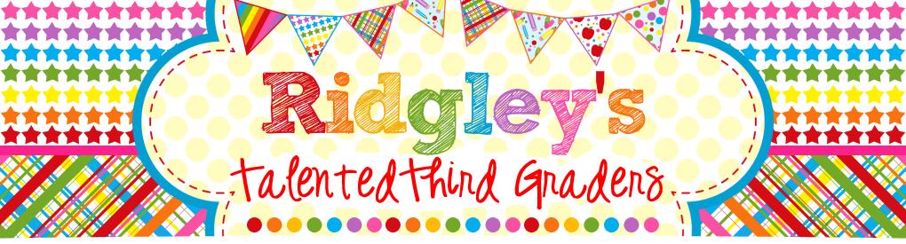 Ridgley's Talented Third Graders!