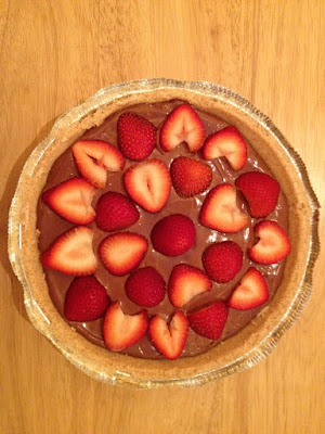 Vegan Vegetarian Chocolate Mousse Pie