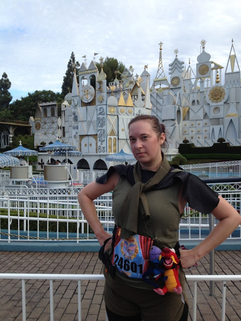Budget Fairy Tale: Disneyland Race Weekend 2013 Part 2 - Inaugural Disneyland 10k