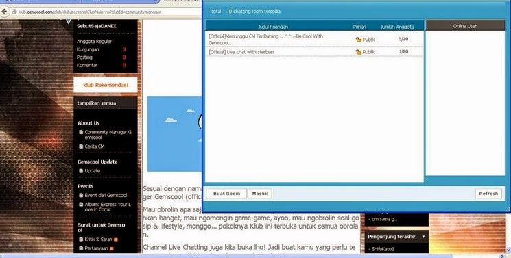 Cara Chatting/Hubungi Langsung CM Gemscool Untuk Semua Laporan Game