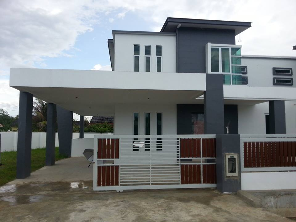 Double Storey Semi D At Lutong Baru Rm650k For Sale