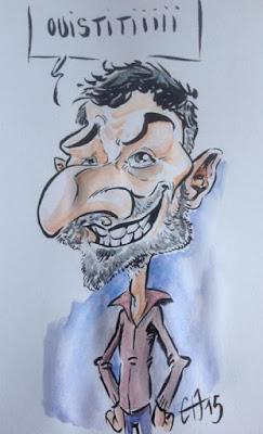 Caricature Jean Marc Borot - Guillaume Néel ©