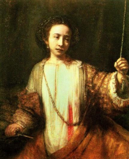 Le suicide de Lucrèce de Rembrandt, vers 1666
