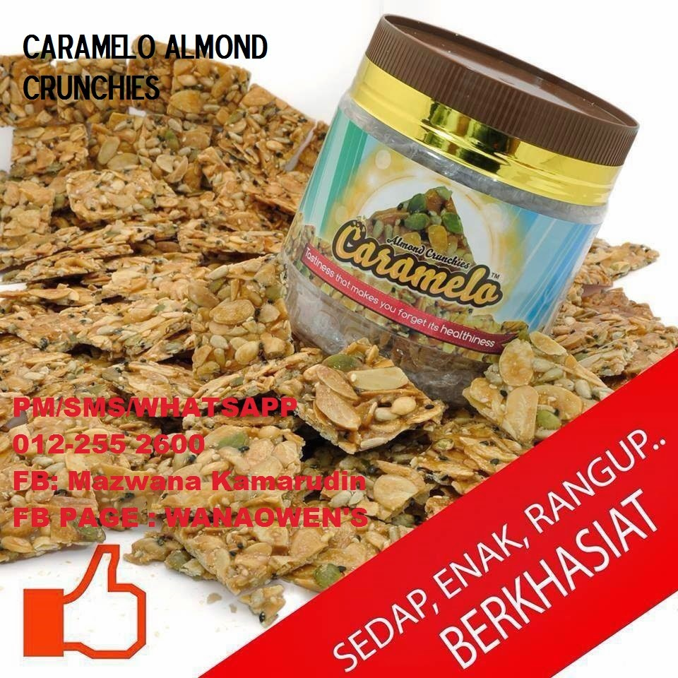 Caramelo Almond Crunchies