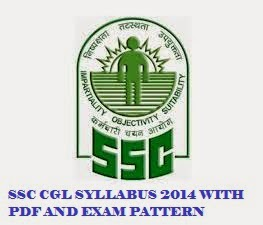 SSC CGL SYLLABUS 2014 WITH PDF AND EXAM PATTERN