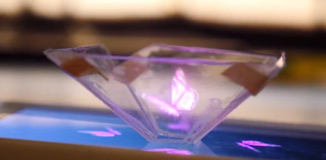 Cara Membuat Hologram 3D di Android