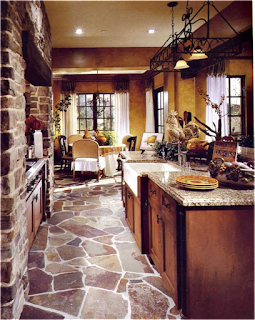 Tuscan Kitchen Floor Ideas