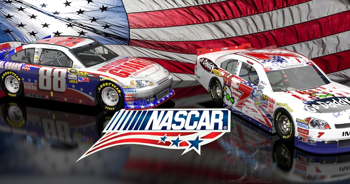 wallpapers by wicked shadows dale earnhardt jr and danica