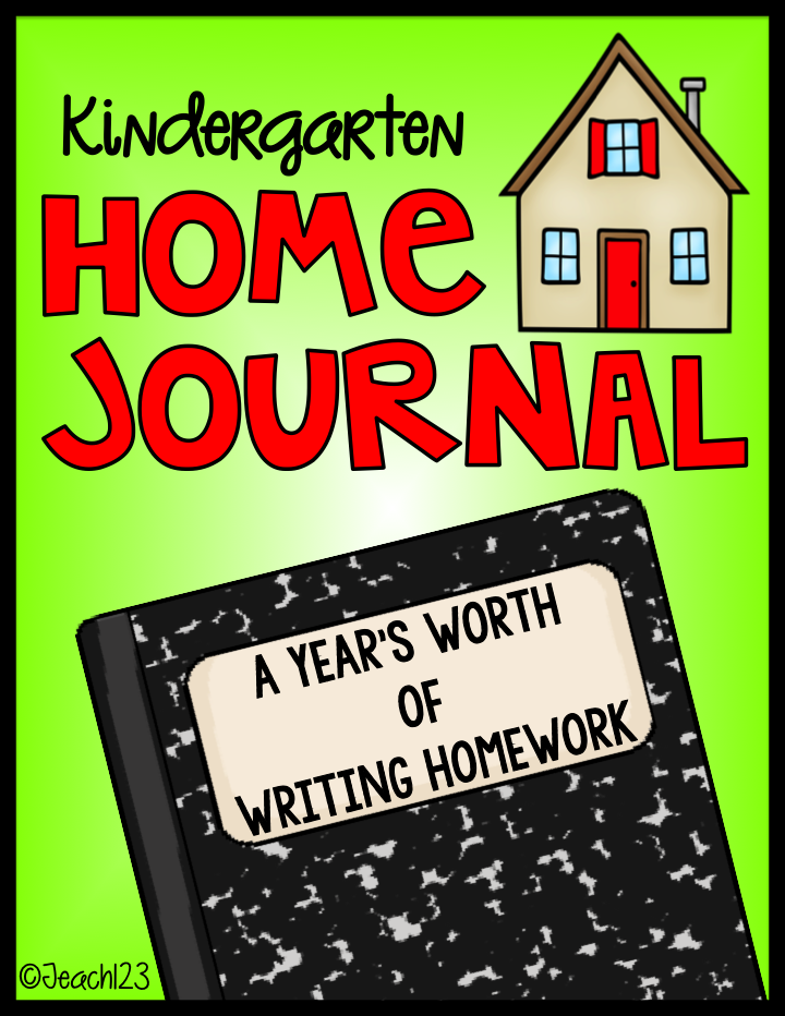 Home Journal Homework - Kindergarten