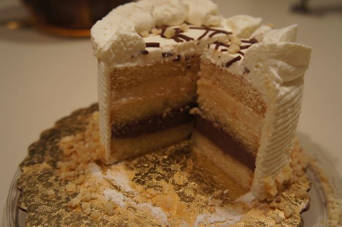 Italian Rum Cake from Wegmans