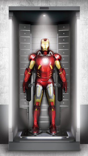 how to make a ironman suit out of metal