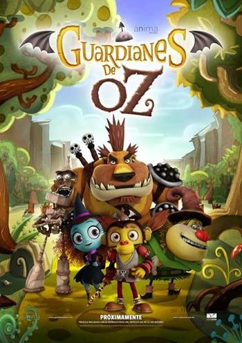 Guardianes de Oz (2015) DVDRip Latino