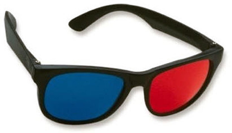 MAKE YOUR OWN ANAGLYPH 3D GLASSES