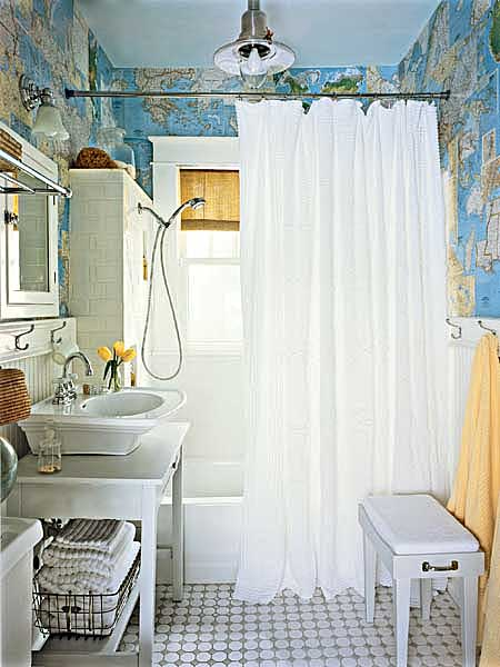 Cottage style bathroom design ideas home interiors for Cottage bathroom designs pictures
