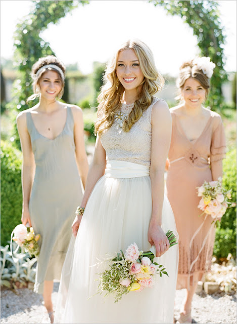 Honorary Bridesmaids on Darling Cashmere