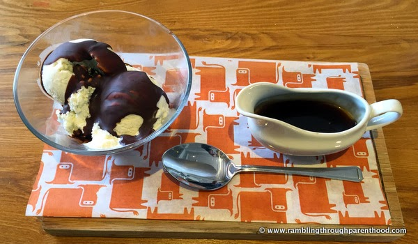 New Chocolate Rum Melt pudding