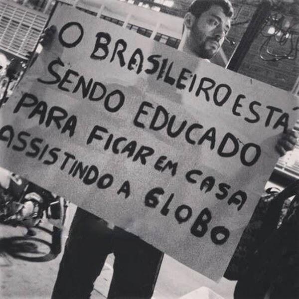 educação no brasil, rede globo televisão
