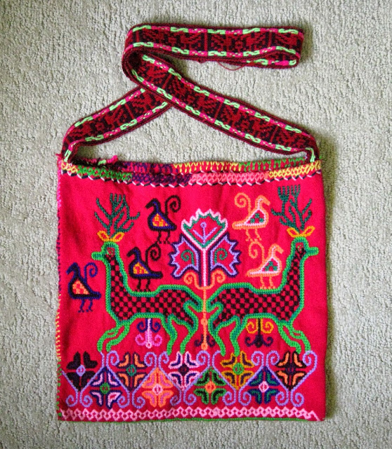 Mazahua Bag Michoacan